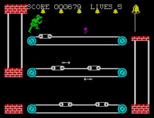 Hunchback 2 ZX Spectrum 23