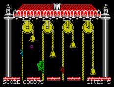 Hunchback 2 ZX Spectrum 26