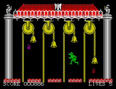 Hunchback 2 ZX Spectrum 27