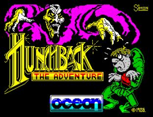 Hunchback The Adventure ZX Spectrum 01