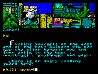 Hunchback The Adventure ZX Spectrum 09