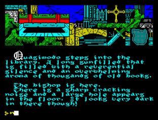 Hunchback The Adventure ZX Spectrum 20