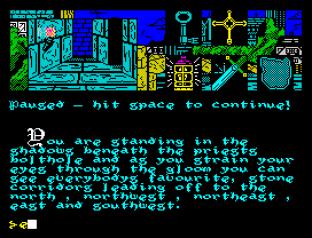 Hunchback The Adventure ZX Spectrum 23