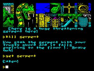 Hunchback The Adventure ZX Spectrum 34