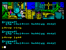 Hunchback The Adventure ZX Spectrum 44