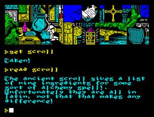 Hunchback The Adventure ZX Spectrum 45