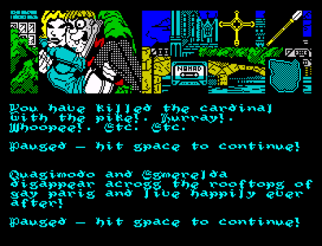 Hunchback The Adventure ZX Spectrum 67
