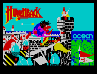 Hunchback ZX Spectrum 01