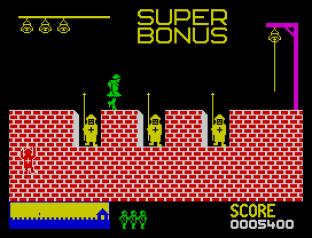 Hunchback ZX Spectrum 09