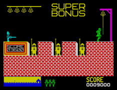Hunchback ZX Spectrum 10