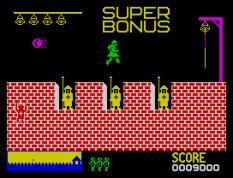 Hunchback ZX Spectrum 11