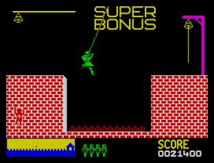 Hunchback ZX Spectrum 12