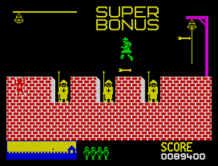 Hunchback ZX Spectrum 20