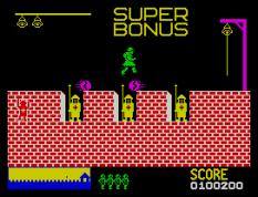 Hunchback ZX Spectrum 21