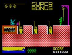 Hunchback ZX Spectrum 22