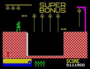 Hunchback ZX Spectrum 23