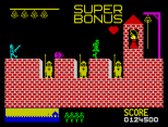 Hunchback ZX Spectrum 25