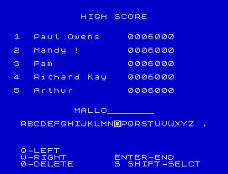 Hunchback ZX Spectrum 26