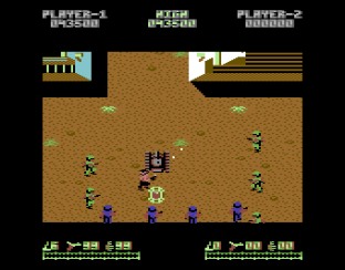 Ikari Warriors C64 42