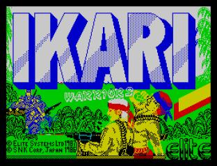 Ikari Warriors ZX Spectrum 01