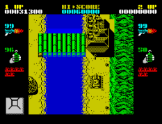 Ikari Warriors ZX Spectrum 22
