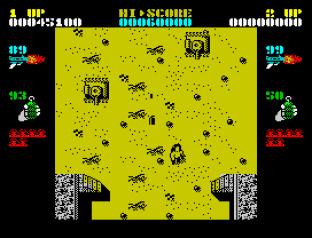 Ikari Warriors ZX Spectrum 34