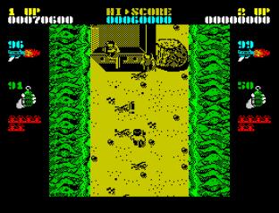 Ikari Warriors ZX Spectrum 45