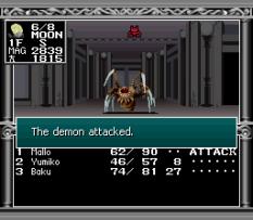 Kyuuyaku Megami Tensei SNES 076
