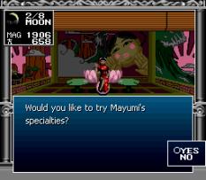 Kyuuyaku Megami Tensei SNES 165