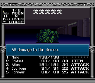 Kyuuyaku Megami Tensei SNES 243
