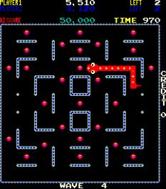 Nibbler Arcade 41