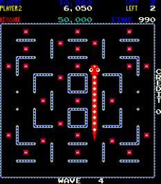 Nibbler Arcade 54