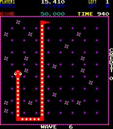 Nibbler Arcade 62
