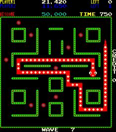 Nibbler Arcade 76