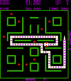 Nibbler Arcade 77