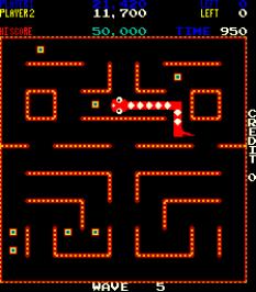 Nibbler Arcade 80