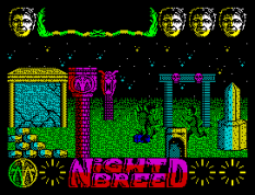 Nightbreed ZX Spectrum 10
