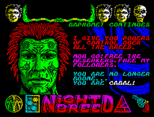 Nightbreed ZX Spectrum 42