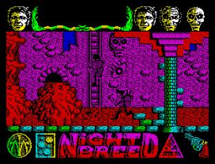 Nightbreed ZX Spectrum 64