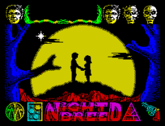 Nightbreed ZX Spectrum 77