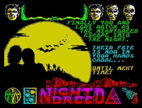 Nightbreed ZX Spectrum 78
