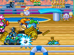 Ninja Baseball Bat Man Arcade 056