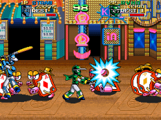 Ninja Baseball Bat Man Arcade 087