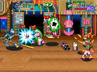 Ninja Baseball Bat Man Arcade 097