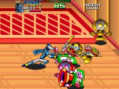 Ninja Baseball Bat Man Arcade 110