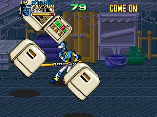 Ninja Baseball Bat Man Arcade 141