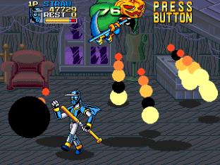 Ninja Baseball Bat Man Arcade 144