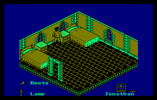 Nosferatu Amstrad CPC 12