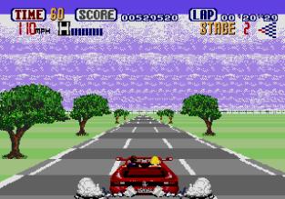 Out Run Megadrive 20