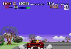Out Run Megadrive 22